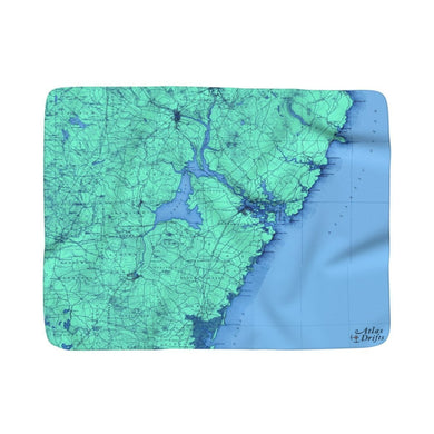 Portsmouth Sherpa Fleece Blanket