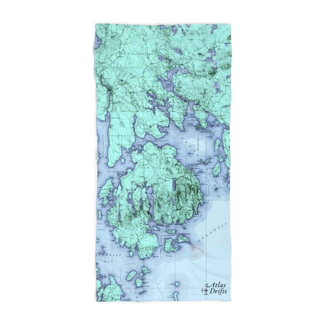 Mount Desert Island Beach Towel