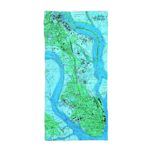 Charleston Beach Towel