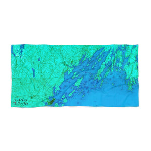 Casco Bay Beach Towel