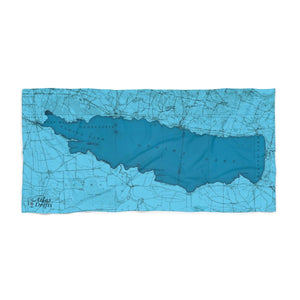 Oneida Lake Beach Towel