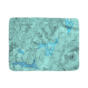 Lake Francis Sherpa Fleece Blanket