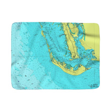 Sanibel Island Sherpa Fleece Blanket