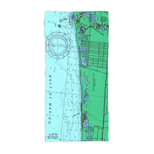 Naples Park Beach Towel