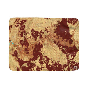 Grand Canyon Sherpa Fleece Blanket