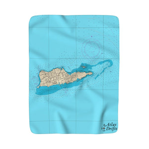 St. Croix Sherpa Fleece Blanket