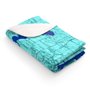Madison Lakes Sherpa Fleece Blanket