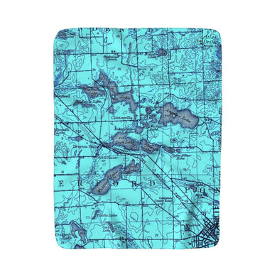 Waterford Township- East Sherpa Fleece Blanket