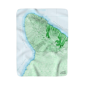Waikoloa Sherpa Fleece Blanket