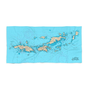St. Thomas/St. John Beach Towel