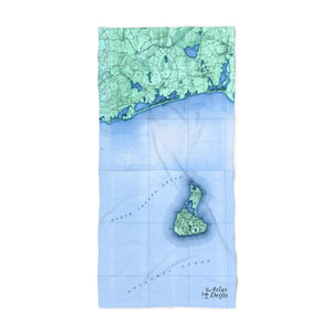 Block Island Beach Towel