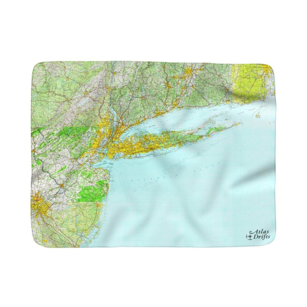 Long Island Sherpa Fleece Blanket