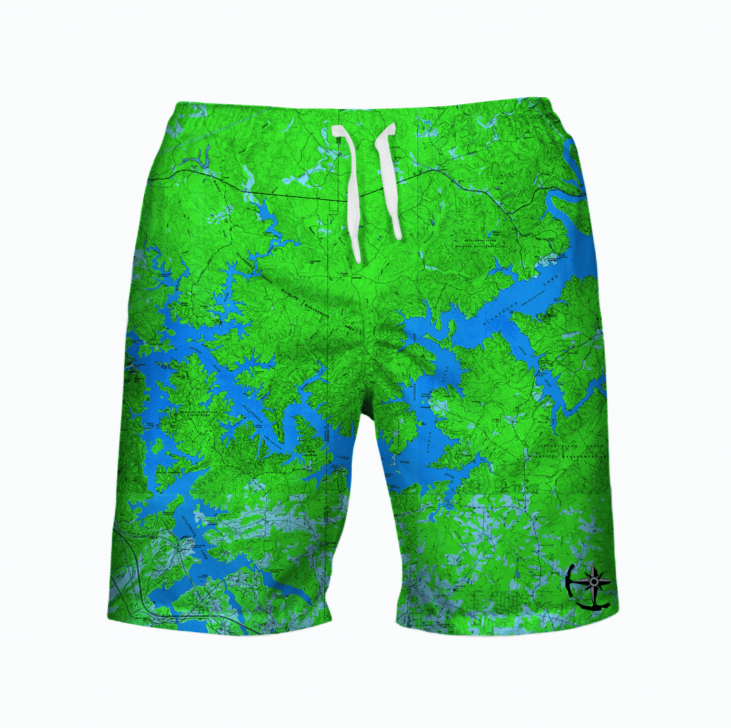 Allatoona Lake Men's Swimsuit