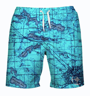 Watkins, Angelus, and Woodhull Lake Area Men's Swimsuit