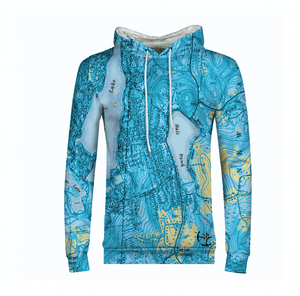 Ball Pond Men's Hoodie - Blue