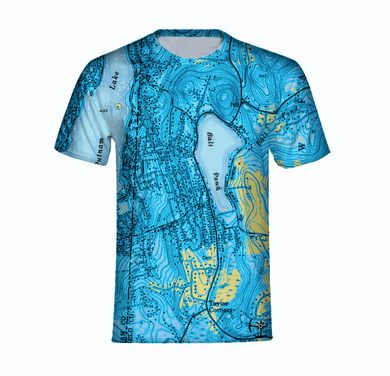 Ball Pond Men's T-shirt - Blue
