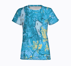 Ball Pond Women's T-Shirt - Blue