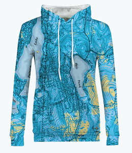 Ball Pond Women's Hoodie - Blue