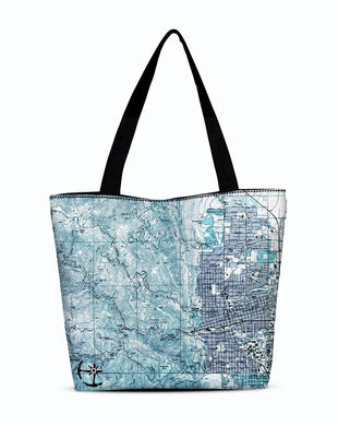 Boulder Canvas Zip Tote