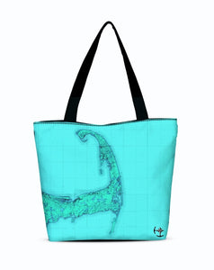 Cape Cod Canvas Zip Tote