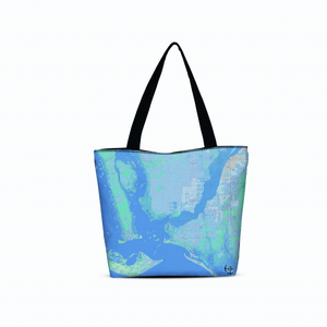 Cape Coral Canvas Zip Tote