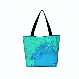 Casco Bay Canvas Zip Tote