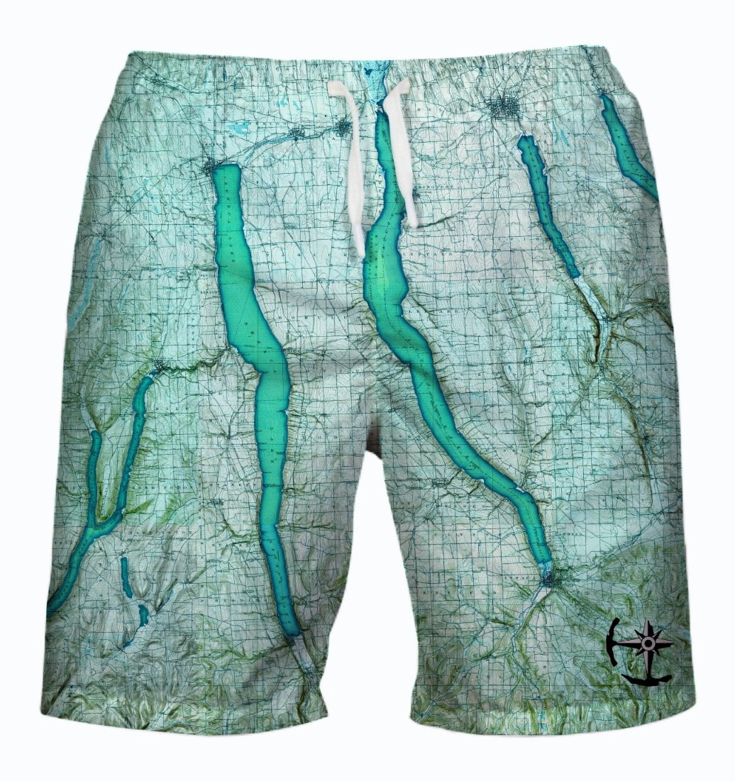 Cayuga Lake Men's Swimsuit