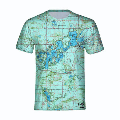 Chain O' Lakes Men's T-shirt