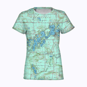 Chain O' Lakes Women's T-Shirt