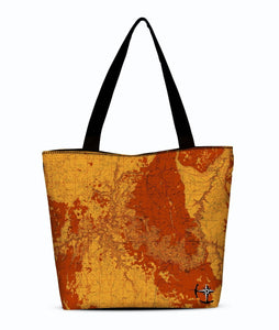 Grand Canyon Canvas Zip Tote