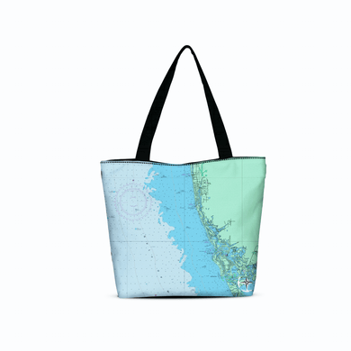 Keewaydin Island - Naples Canvas Zip Tote