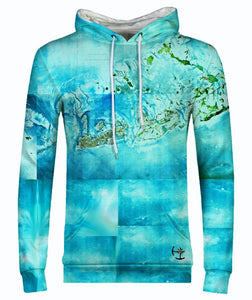 Tropical Florida Keys Men's Hoodie