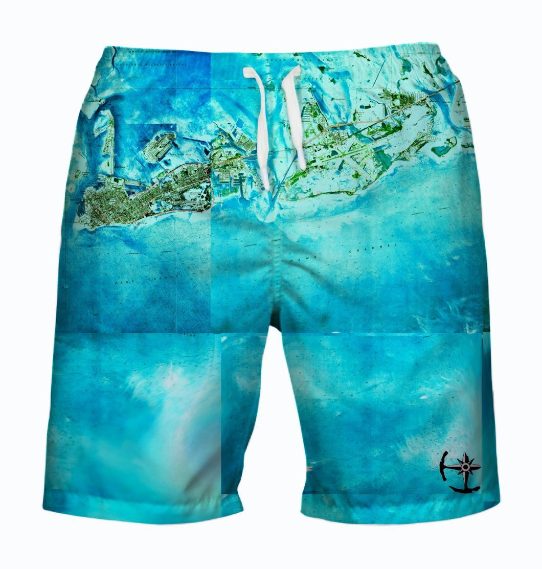 Tropical Florida Keys Men's Swimsuit