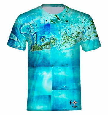 Tropical Florida Keys Men's T-Shirt