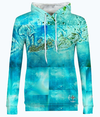 Tropical Florida Keys Women's Hoodie