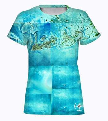 Tropical Florida Keys Women's T-Shirt