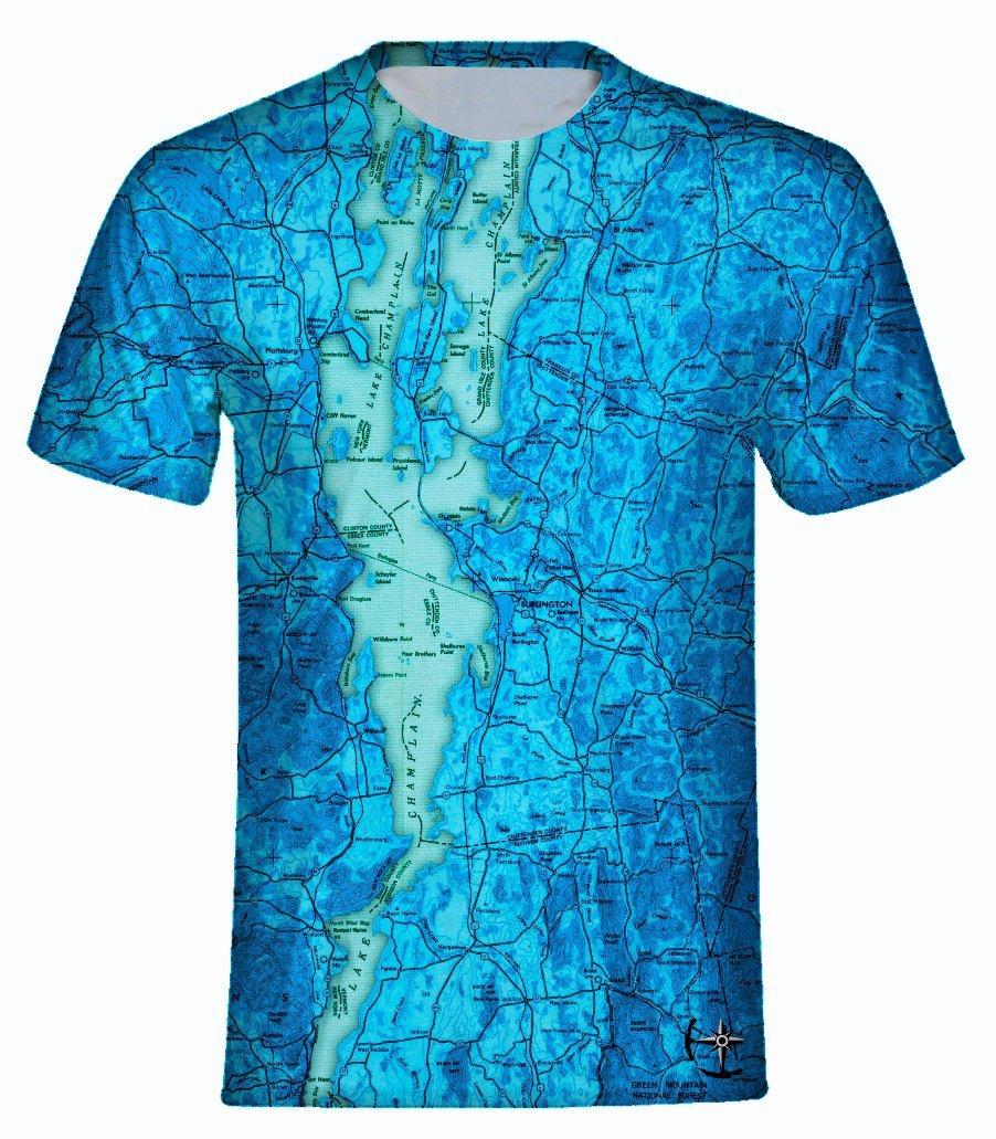 Lake Champlain Men's T-Shirt