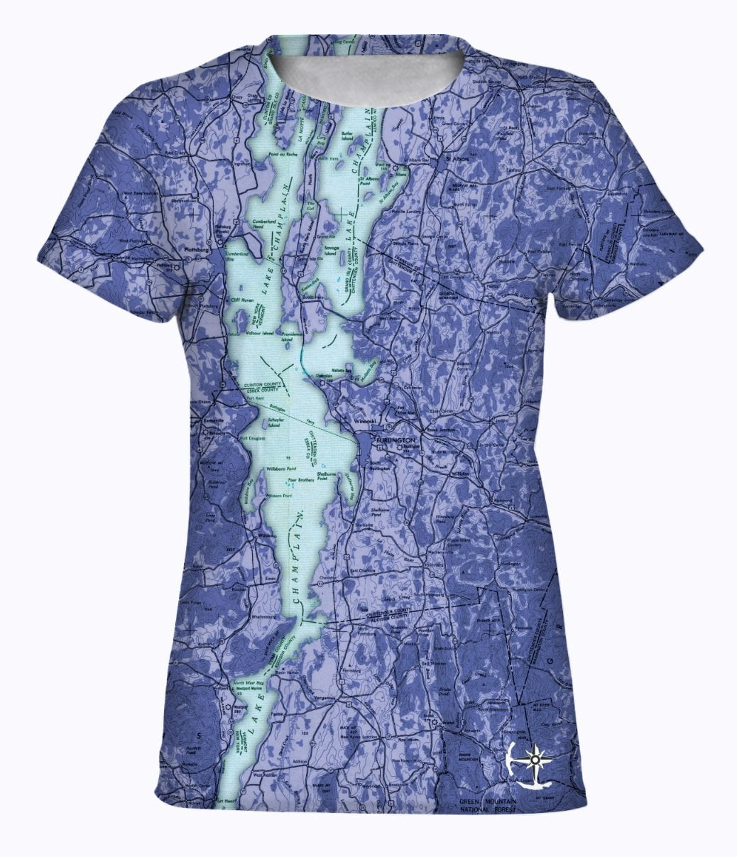 Lake Champlain Women's T-Shirt