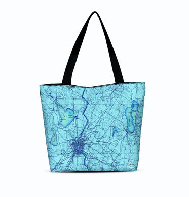 Lewiston Canvas Zip Tote