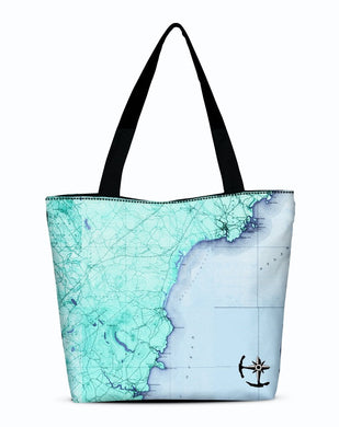 Ogunquit Canvas Zip Tote