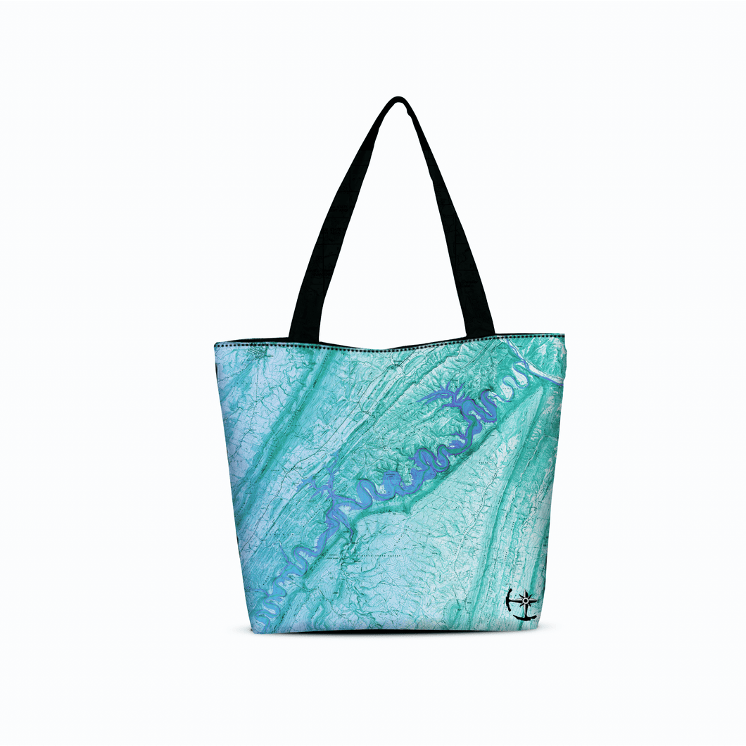 Raystown Lake Canvas Zip Tote