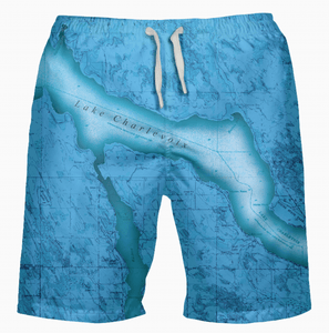 Lake Charlevoix Swimsuit (Blue)