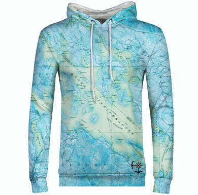 Lake Winnipesaukee Coast Men's Hoodie