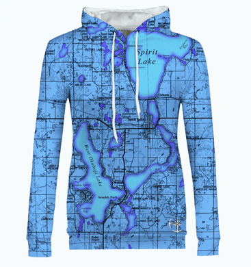 Iowa Great Lakes Women's Hoodie
