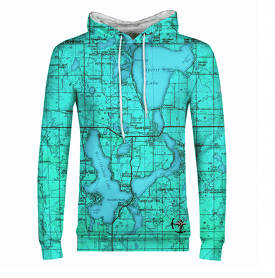 Iowa Great Lakes Mens Hoodie