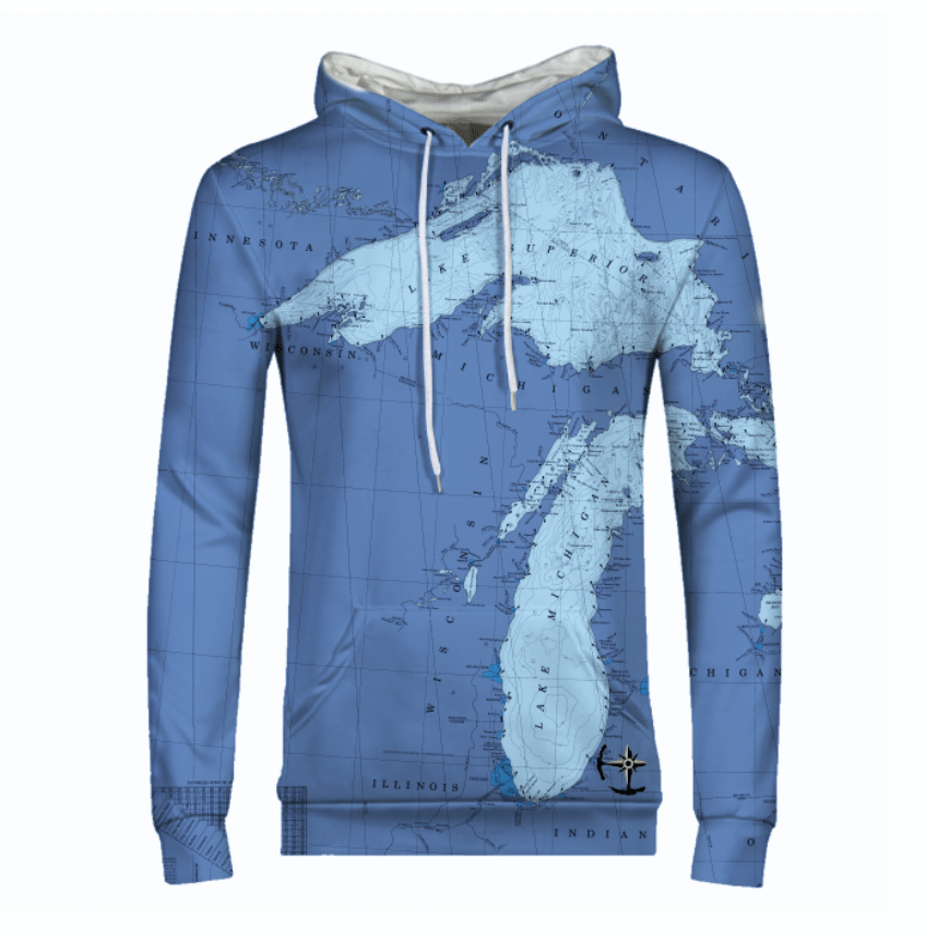 Great Lakes Men's Hoodie