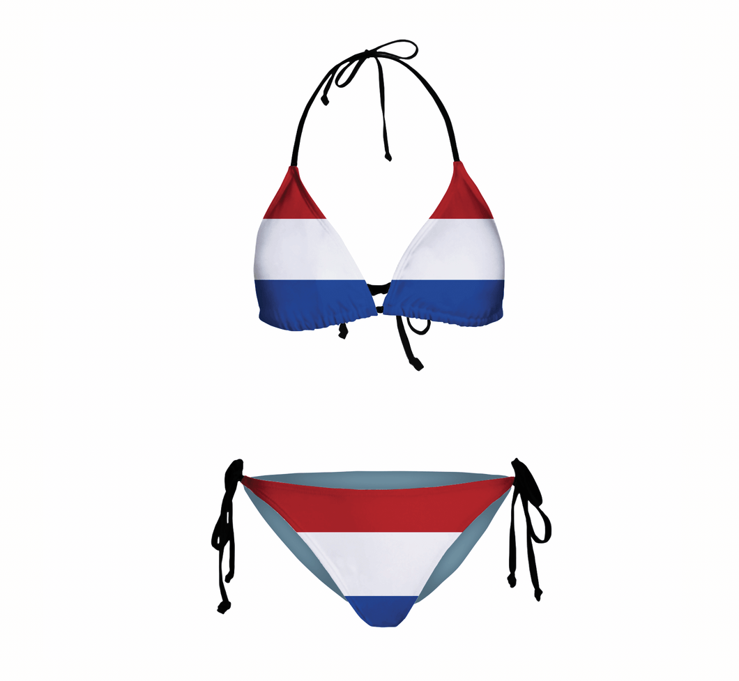 Dutch Flag Women's Bikini