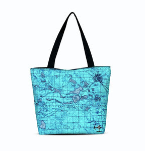 West Bloomfield Canvas Zip Tote