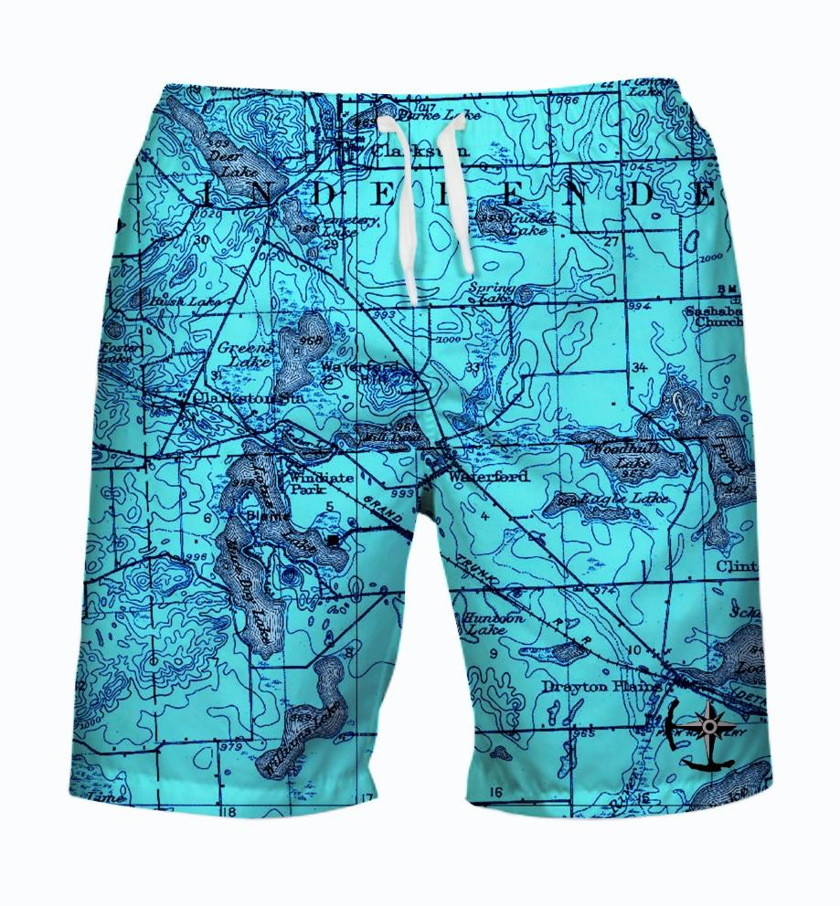 Williams, Maceday, and Deer Lake Area Men's Swimsuit