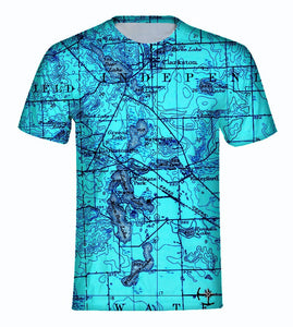 Williams, Maceday, and Deer Lake Area Men's T-Shirt